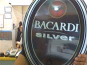 BACARDI SILVER BEER SIGN 0048-S0739